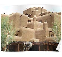 Inn at Loretto, Classic Adobe Hotel, Santa Fe, New Mexico Poster