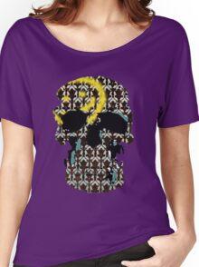 Sherlock's Skull and Wallpaper Women's Relaxed Fit T-Shirt