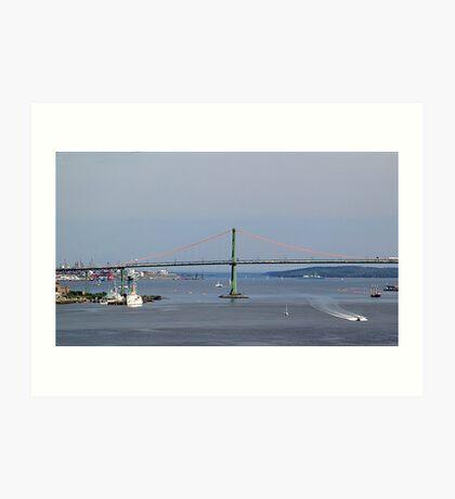 Harbour View-Halifax Art Print