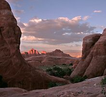 Arches National Park in Utah by Susan Russell