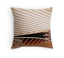 Oriente station - Lisbon Throw Pillow