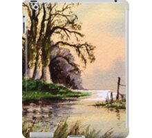 Springtime On The River iPad Case/Skin