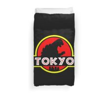 Jurassic Tokyo Duvet Cover