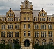 Admin Building, Tennessee State Prison by Jonathan Covington