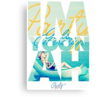 Girls' Generation (SNSD) Yoona 'Party' Canvas Print
