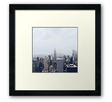 New York City Daydream Framed Print