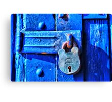 Under Lock & Key Canvas Print