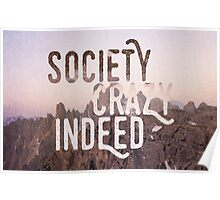 Society - Into the wild Poster