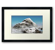 Tiny Mountain Framed Print