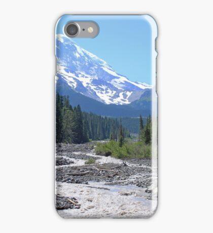 Majestic Mountains, Mt. Rainier iPhone Case/Skin