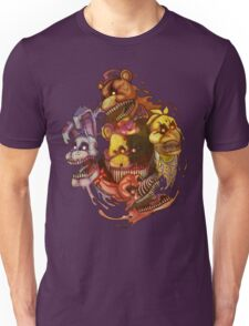 Five Nightmares of Freddy's Unisex T-Shirt