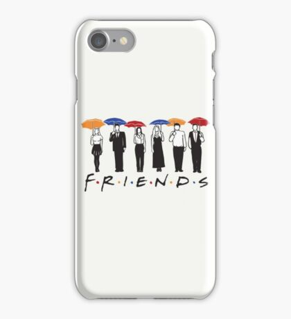 FRIENDS version 2 iPhone Case/Skin