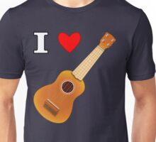 I Love Uke... Unisex T-Shirt