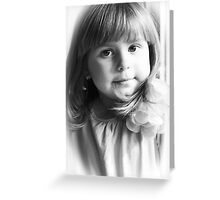 Olivia's Portrait Greeting Card