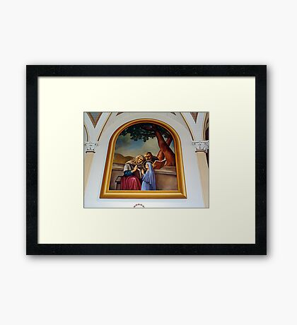 Churches of the French Shore (1) Framed Print