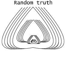Random Truth Hurts Photographic Print
