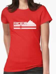 Colorado Rider Womens Fitted T-Shirt