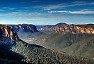 Grose Valley | Blue Mountains Australia | Govetts Leap by DavidIori