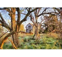 """ Old House Painted "" Photographic Print"