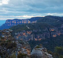 Winter Blues ~ Narrowneck, Katoomba NSW by JennyMac