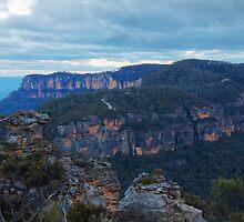 Winter Blues ~ Narrowneck, Katoomba NSW by JennyMac