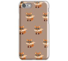 Fox Nerd  - Pattern iPhone Case/Skin