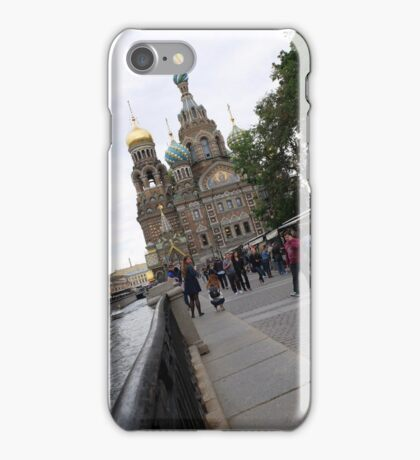 Church of Spilled Blood in St Petersburgh Russia iPhone Case/Skin