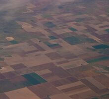 Circles, squares and rectangles on the farms of America by Henry Plumley