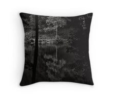 Even the trees have ghosts of former selves Throw Pillow