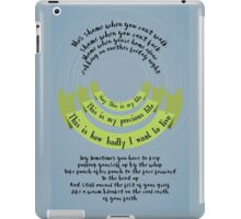 This is My Precious Life (Censored) iPad Case/Skin