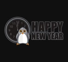 Happy New Year - Penguin Kids Clothes
