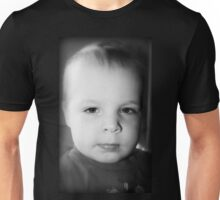 Jeremy's Portrait In Black And White Unisex T-Shirt