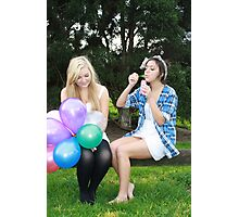 Bubbles and Balloons! Photographic Print