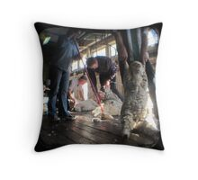 All Systems Go in the Deeargee Woolshed - TTV Throw Pillow