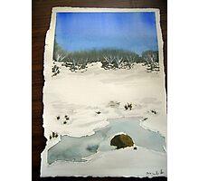 Lake Mountain Winter 2010 Photographic Print