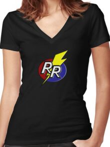 Rescue Rangers! Women's Fitted V-Neck T-Shirt