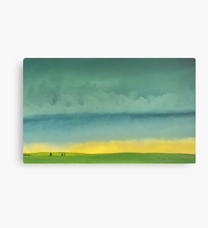 Alberta Fields Canvas Print