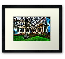 Haunted House 1 Framed Print