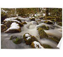 Hidden Falls Creek A Touch of Snow Poster