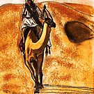 Camel Rider by Dawn B Davies-McIninch