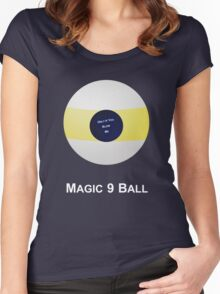 Magic 9 Ball Women's Fitted Scoop T-Shirt