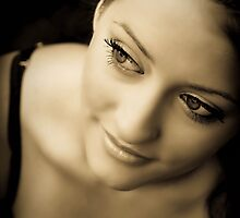 Laine in Sepia by Annie Lemay  Photography