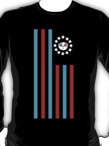 3D Panda - Flag  T-Shirt