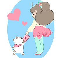 Bee and Puppycat by Deathrosen