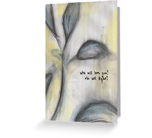 Skinny Love Greeting Card
