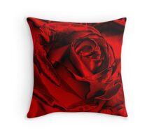 Red for the Holidays Throw Pillow