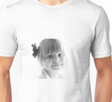 Portrait in Black And White Unisex T-Shirt