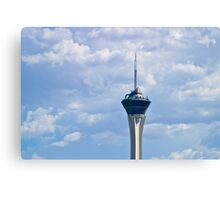 The Stratoshpere Hotel and Casino from downtown Las Vegas, Nevada Canvas Print