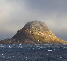 Ross Island, Arctic Circle. by John Dalkin