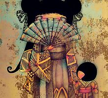 mai and suki by © Karin  Taylor